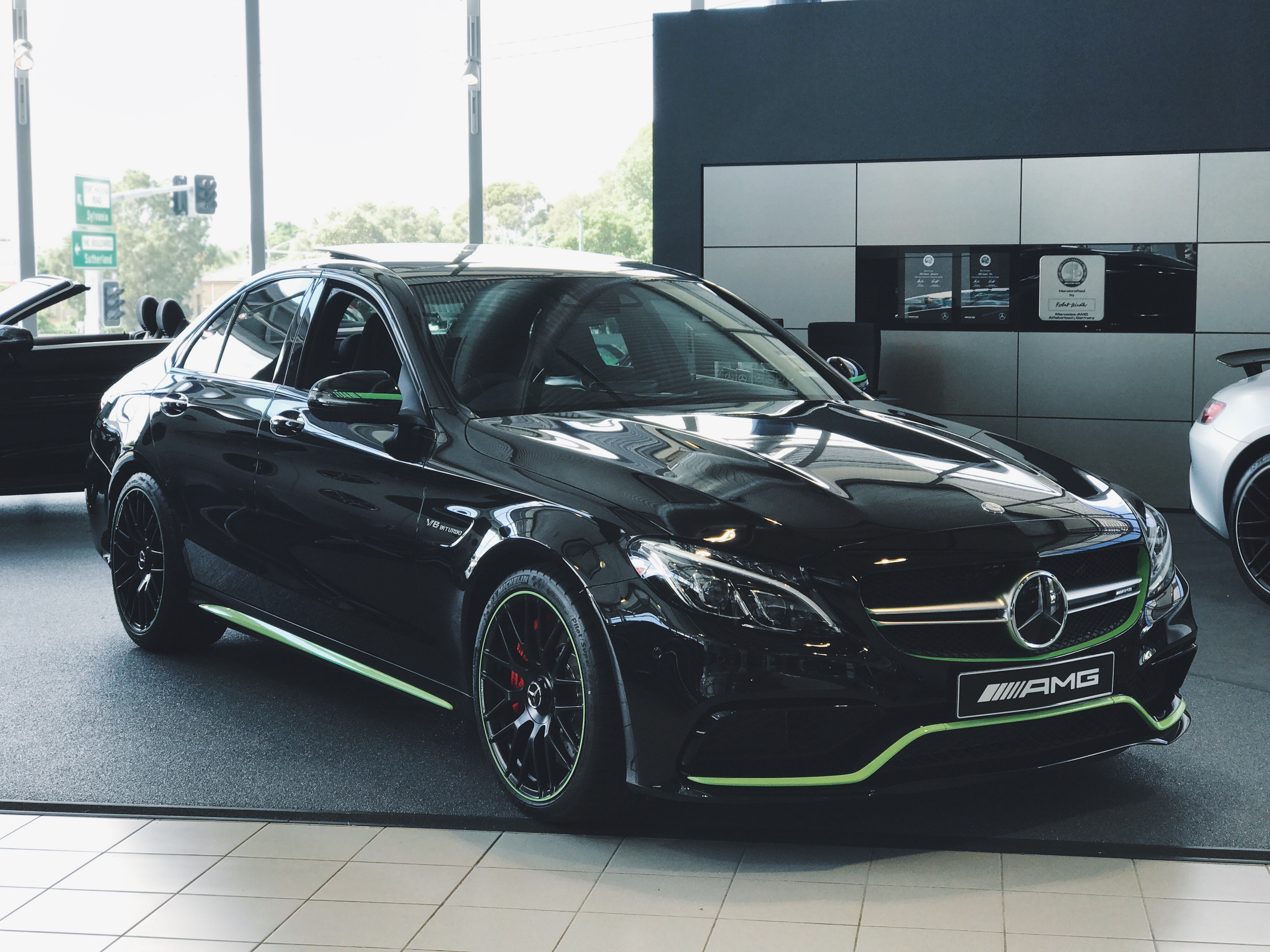 Mercedes benz limited edition amg c63s spotlight tynan for Mercedes benz limited edition