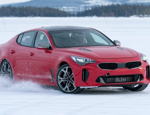 2018 Kia Stinger GT takes on the snow