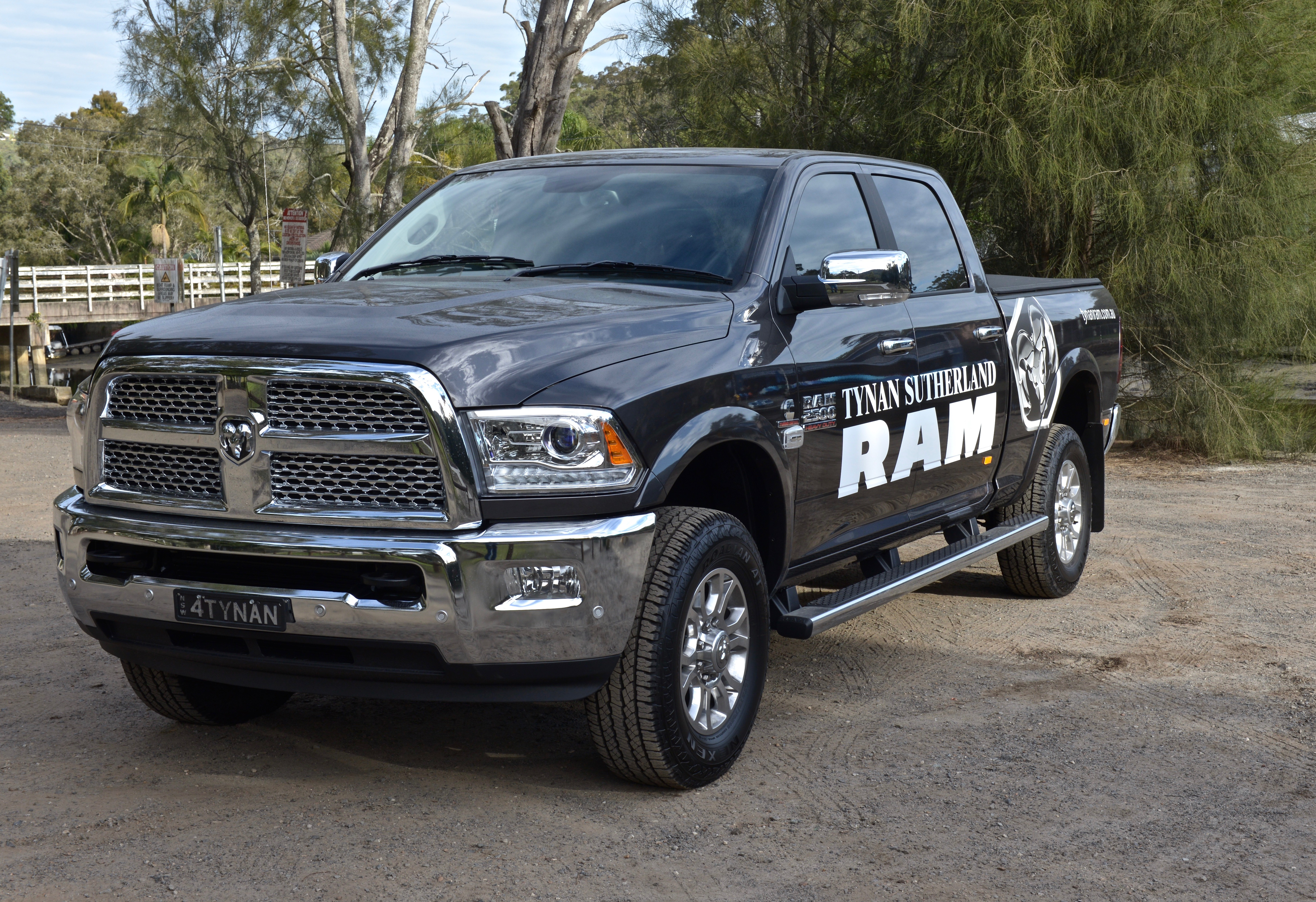 How Ram Trucks Are Converted To Right Hand Drive Tynan