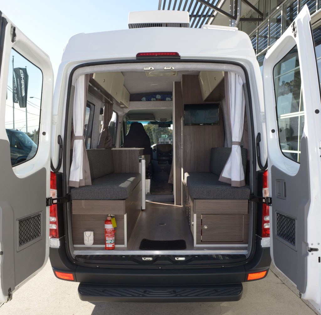 Mercedes Sprinter 316 Transformed Into A Motorhome Tynan