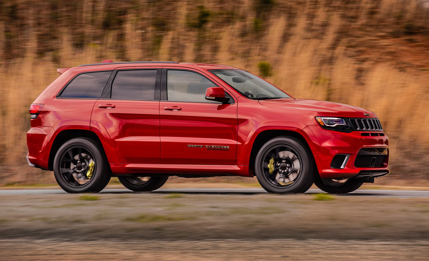 The 2018 Jeep Grand Cherokee Trackhawk Is The Third Most Powerful Car On  Sale In Australia. Boasting A Ridiculous 527kW And Slightly Breathtaking  874Nm Of ...