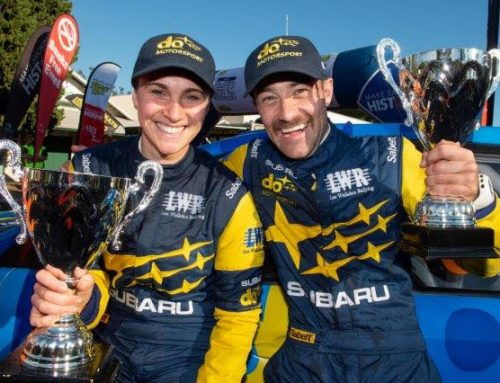 Subaru do Motorsport – 3rd place in the Make Smoking History Forest Rally