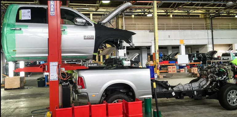 How RAM Trucks are converted to right-hand drive