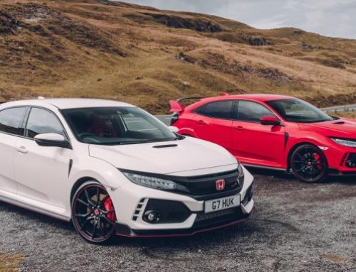 "Top Gear award Honda Civic Type R ""Car of the Year"""