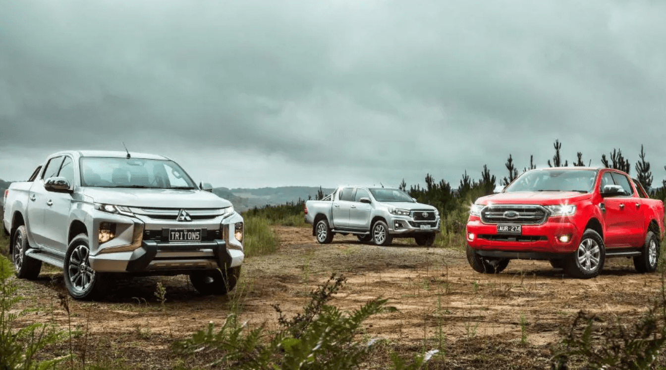 Mitsubishi Triton VERSUS Toyota HiLux and Ford Ranger