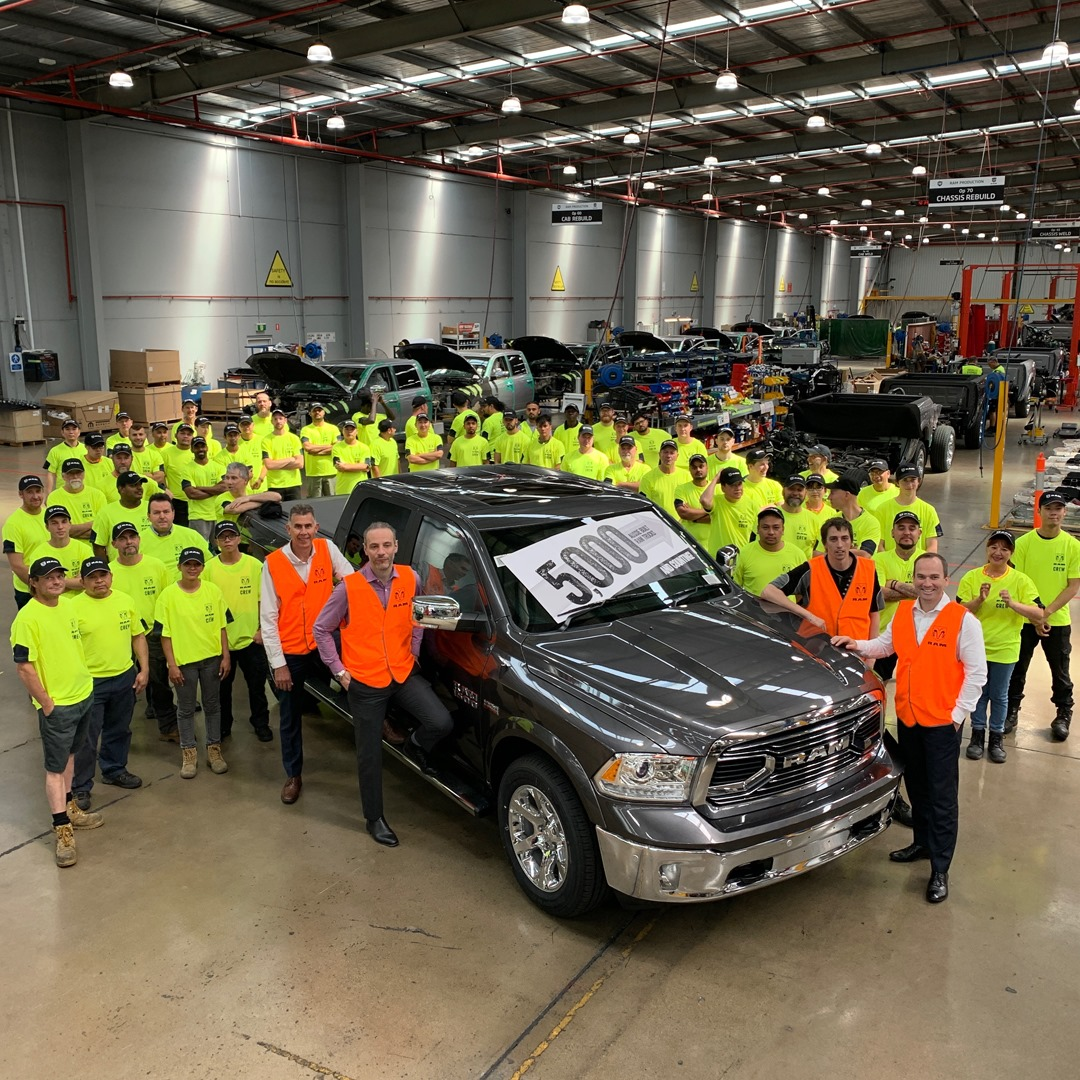 How RAM is boosting the local Australian car manufacturing