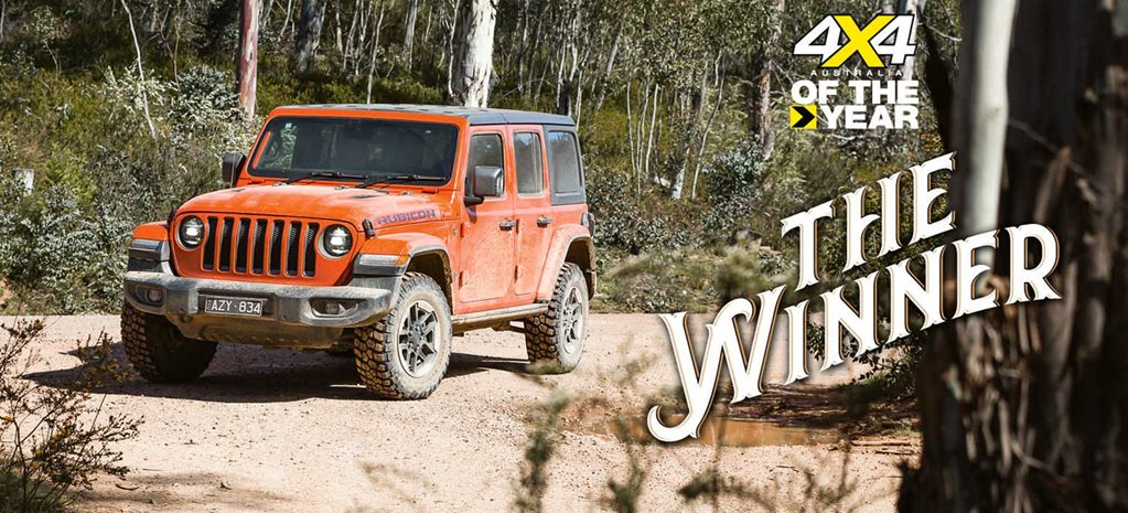 The Mighty Jeep Wrangler Rubicon WINS 2020 4X4 Of The Year Award