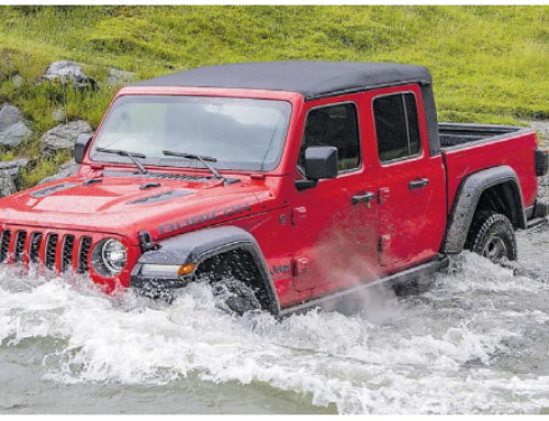 The New Jeep Gladiator set to 'Unleash Hell' this 2020