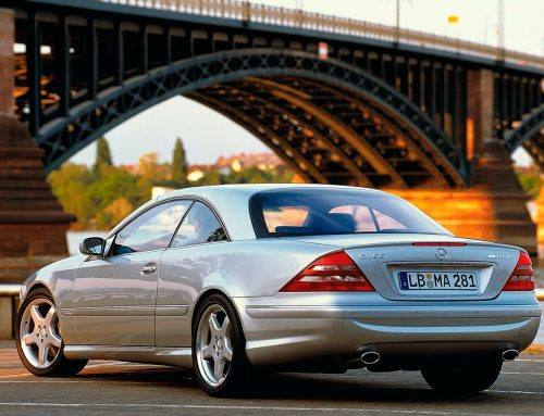 Throwback in the 2000 Mercedes-Benz CL55 AMG F1 Limited Edition